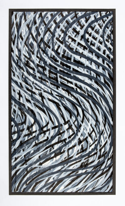 Sol LeWitt, 'Wavy Lines (Gray)', 1995