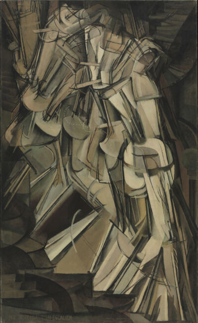 Marcel Duchamp, 'Nude Descending a Staircase (No. 2)', 1912