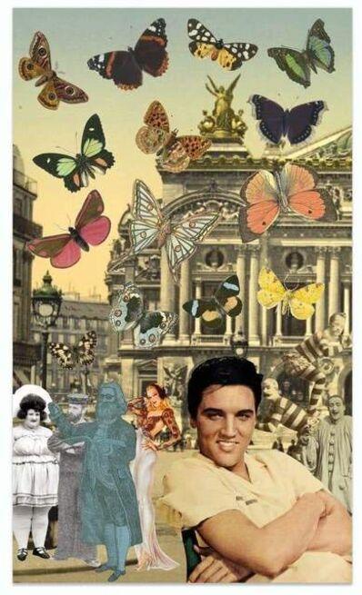 Peter Blake, 'Elvis In Paris', ca. 2020