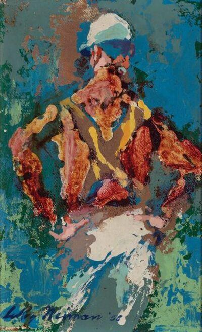 LeRoy Neiman, 'Willie Shoemaker', 1958