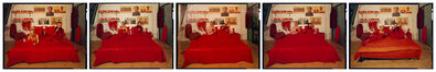 Cang Xin, 'Red: Hotspot', 2004