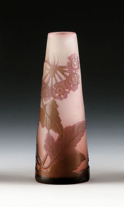 Emile Gallé, 'Small Vase with verbena', France, Nancy, 1904 to 1906