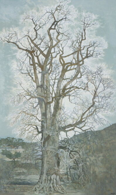 Jang Sup Son, 'Maidenhair Tree in Yongmun Temple', 2016