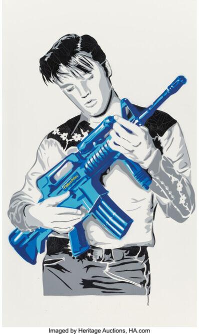 Mr. Brainwash, 'Don't Be Cruel (Blue)', 2007
