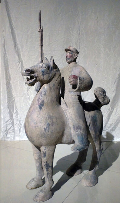 Liu Ruowang, '  车马仪仗队'