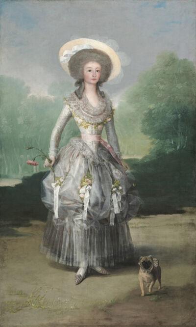 Francisco de Goya, 'The Marquesa de Pontejos', ca. 1786