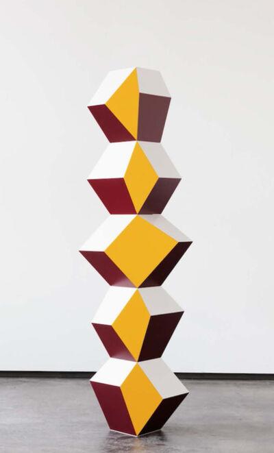 Angela Bulloch, 'Five Form Starck: Yolk, Wine & White', 2016
