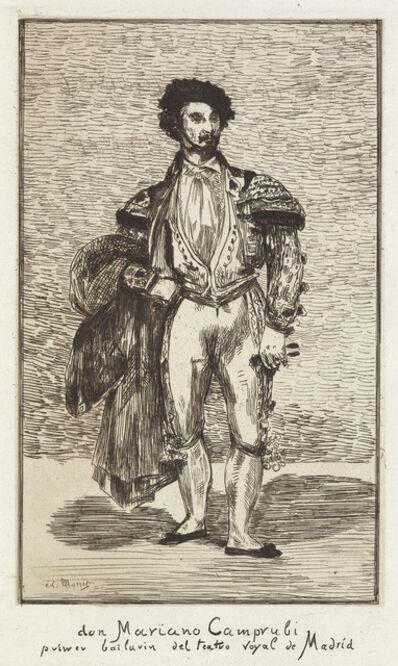 Édouard Manet, 'Le Baïlarin (Don Mariano Camprubi)', 1862-63