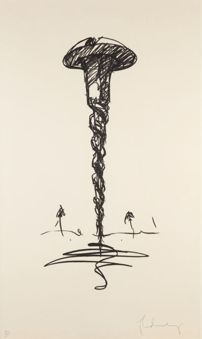 Claes Oldenburg, 'Colossal Screw in Landscape-Type 1', 1976
