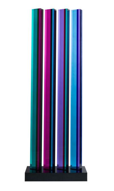 Vasa Velizar Mihich, 'Four Columns, #2856', 1987