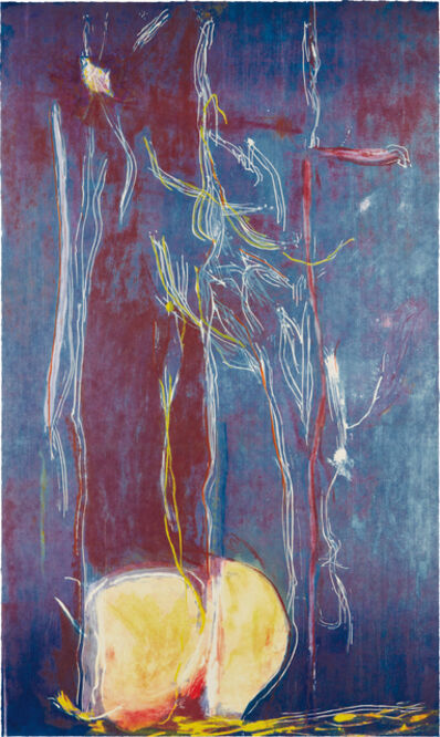 Helen Frankenthaler, 'All About Blue', 1994