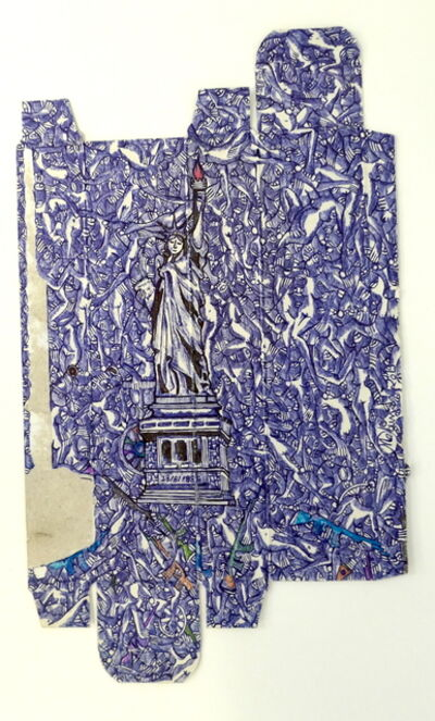 RODRIGO MABUNDA, 'Statue of liberty', 2019