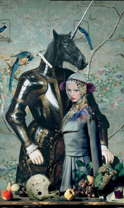 Igor Skaletsky, 'Unicorn and his partner', 2015