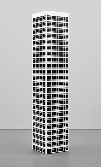 Julian Opie, 'Modern Tower No. 10.', 2001