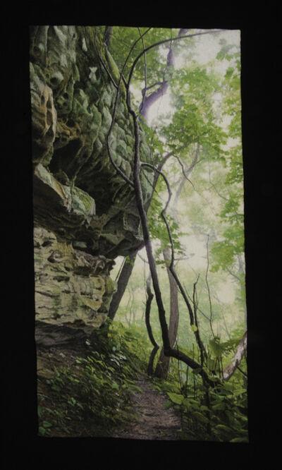 Carol Shinn, 'Trail by the Cliff', 2018