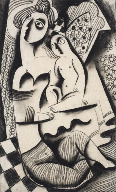 Béla Kádár, 'Mother and Child', ca. 1923-4