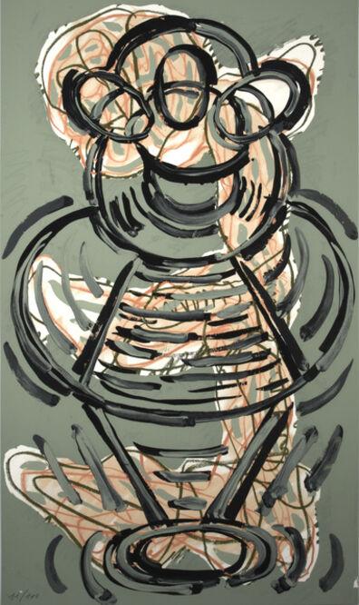 Luis Gordillo, 'Triptico', 1990