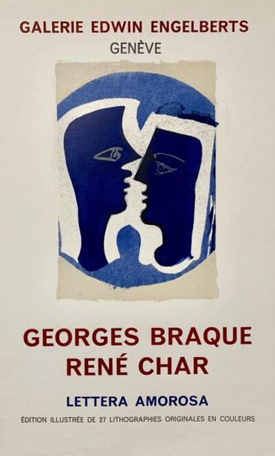 Georges Braque, 'Galerie Edwin Engleberts Poster ', 1963