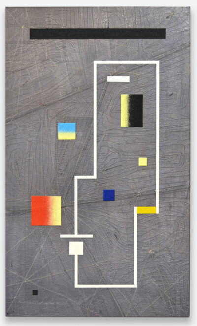 Leonardo Ulian, 'matrix board series 10 - Light emitting rectangle', 2017
