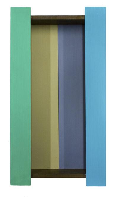 Sérgio Sister, 'Terceiro Fundo (Green and Blue)', 2013