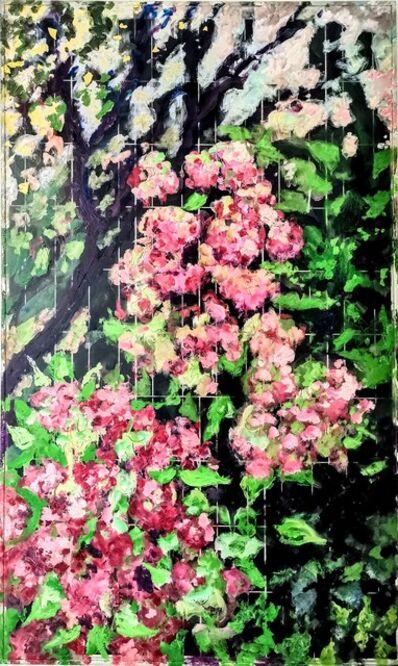 Norma de Saint Picman, 'Hydrangeas, evening - METAMORPHOSES - The Worlds of Change', 2020