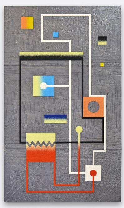 Leonardo Ulian, 'matrix board series 06 - Resistance by astraction', 2017
