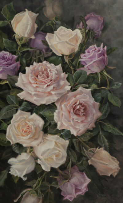 Susan Paterson, 'Pastel Roses', 2019