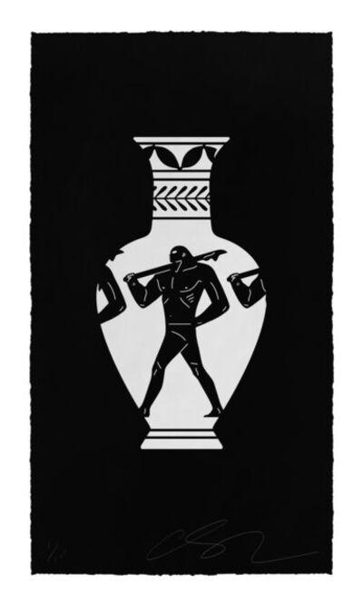 Cleon Peterson, 'Lekythos (black)', 2018