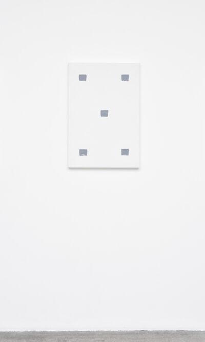 Niele Toroni, 'Empreintes de pinceau N°50 à intervalles réguliers de 30 cm', June 2019