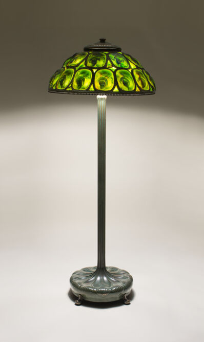 Tiffany Studios, 'Rare Turtle Back Tile Floor Lamp', ca. 1902