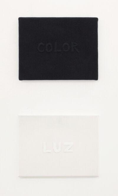 Carlos Castro Arias, 'Color/Luz', 2017