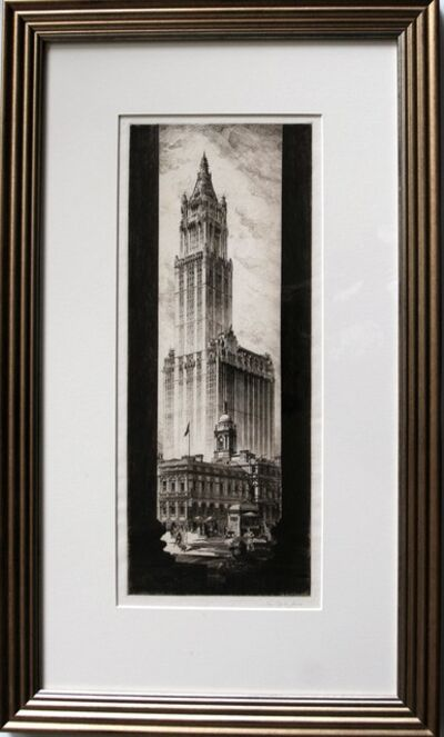 John Taylor Arms, 'American Cathedral (The Woolworth Building)', 1921
