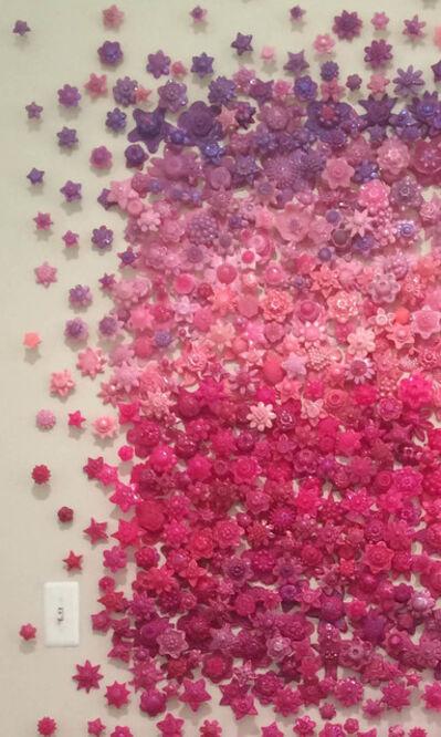 Carson Fox, 'Philadelphia Blush Installation'
