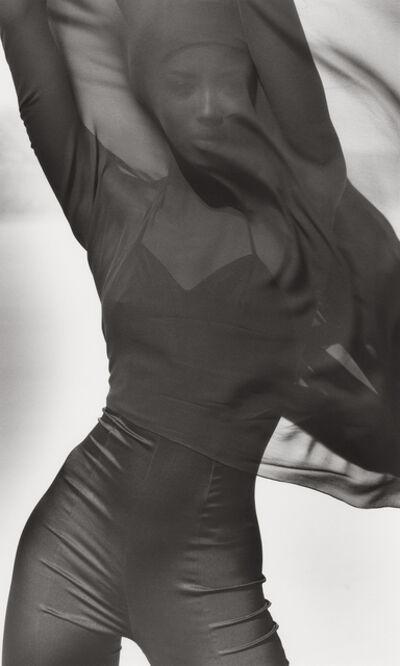 Herb Ritts, 'Naomi Campbell - Versace 4, El Mirage', 1990