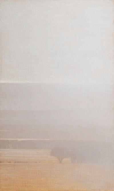 David Grossmann, 'Winter fields with lightly falling snow', ca. 2020