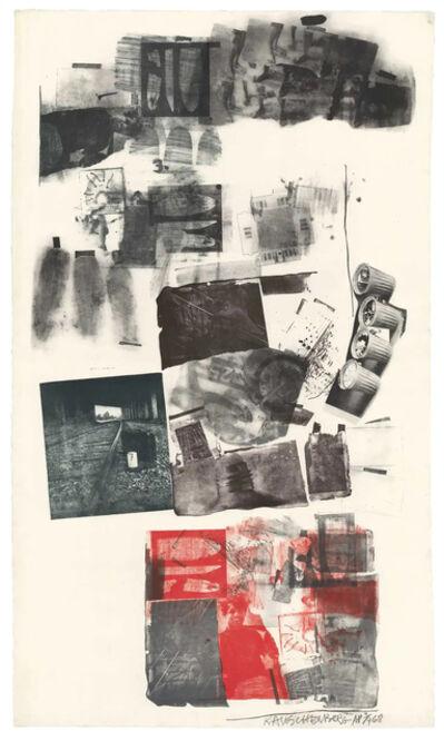 Robert Rauschenberg, 'Water Stop', 1968