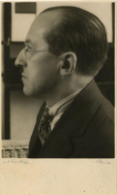 André Kertész, 'Portrait of Mondrian', 1926