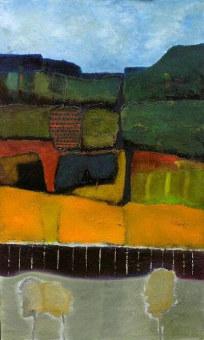 John McCaw, 'Tiered Landscape', 2016