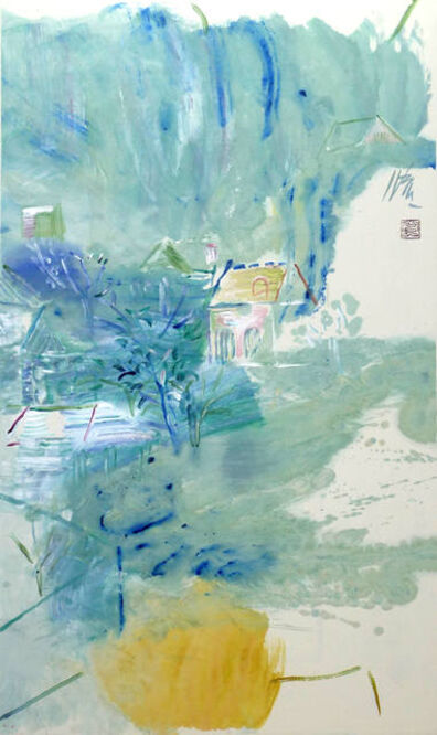 Leng Hong 冷宏, 'Layers of Green', 2011