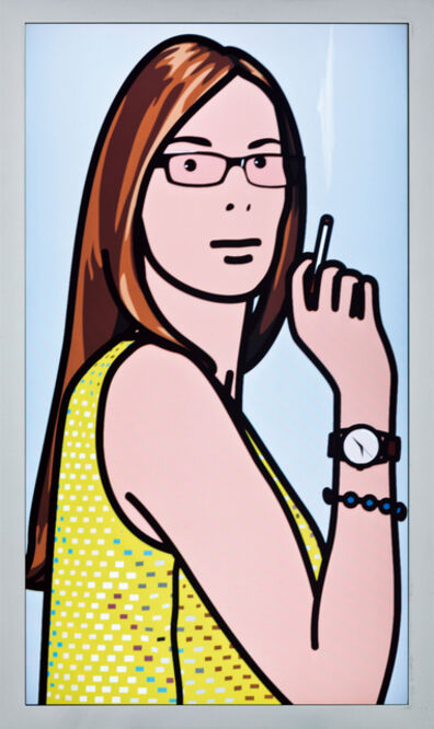 Julian Opie, 'Ruth Smoking. 2.', 2006