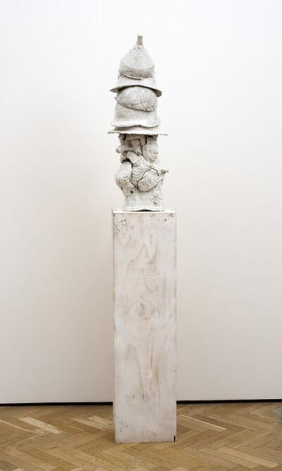 Marcus Harvey, 'War Head', 2016