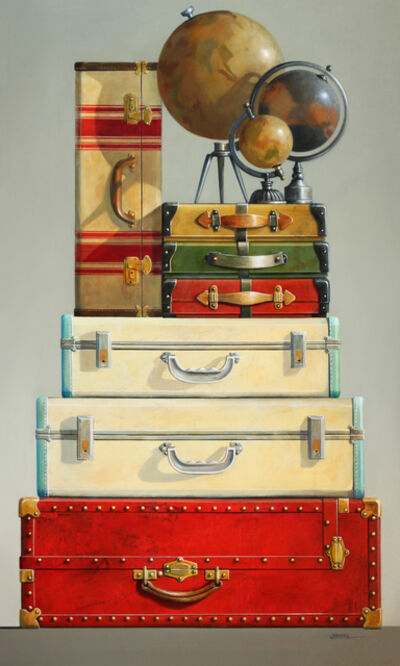 Wendy Chidester, 'Globes and Cases', 2021