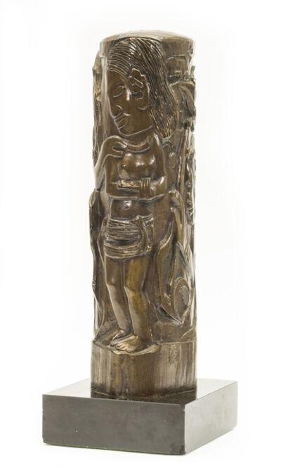Paul Gauguin, 'Cylindre Representant la Deesse Hina', 1888/1959