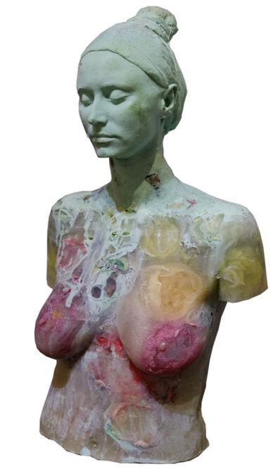 Maria Kulikovska, 'Green Bust ', 2019