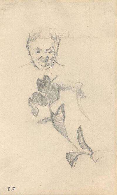 Édouard Vuillard, 'Studies of Madame Vuillard and Foliage (Madame Vuillard et feuillage)', ca. 1895
