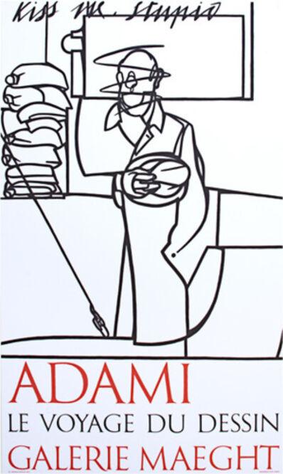 Valerio Adami, 'Exhibition Poster', 1975