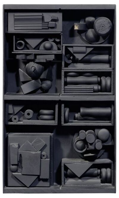 Louise Nevelson, 'The City', 1985