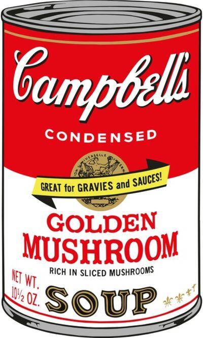 Sunday B. Morning, 'Soup Can (Golden Mushroom)', 2015