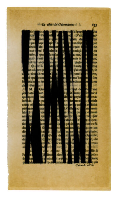 Oriane Stender, 'Untitled pages drawings (page 155)', 2013