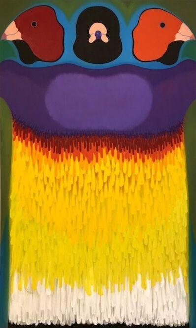Linda Gray, 'Gouldian Finch Totem', 2015